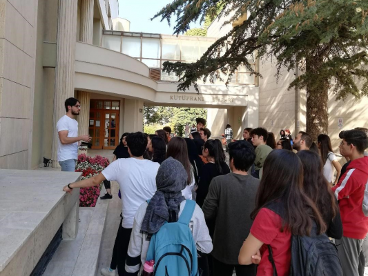 Bilkent Üniversitesi'ni Ziyaret Ettik.